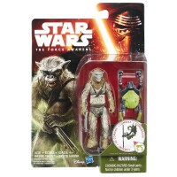 Star Wars 2015 Jungle/Space Actionfiguren: Wave 1 Hassk...