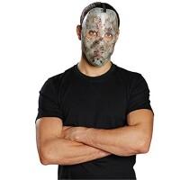 Jason Hockey-Maske blutig (nachtleuchtend)