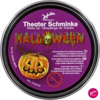 Horror Halloween Theaterschminke schwarz