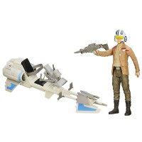 Star Wars Episode VII Actionfigurenset: Poe Dameron mit...