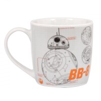 Star Wars Episode VII Keramiktasse - BB-8 (grau) (250 ml)