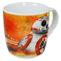Star Wars Episode VII Keramiktasse - BB-8 (orange) (250 ml)