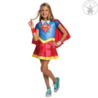DC Super Hero Girls Deluxe Kinderkostüm Supergirl...
