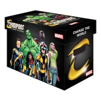 Marvel Comic Box (kurz) Champions Graphic