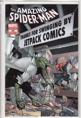 Amazing Spider-Man 666 Jetpack Comics Lizard Variant (Vol. 1)