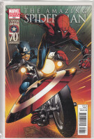 Amazing Spider-Man 656 Captain America 70th Anniversary...