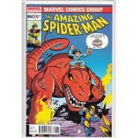 Amazing Spider-Man 643 Marvel Super Heroes Squad Variant...