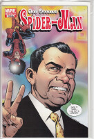 Amazing Spider-Man 599 1:10 1970s Variant Richard Nixon