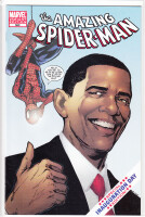 Amazing Spider-Man 583 Variant Obama (Phil Jimenez) (VF)