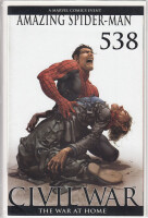 Amazing Spider-Man 538 1:50 Clayton Crain Variant (FN/VF)...