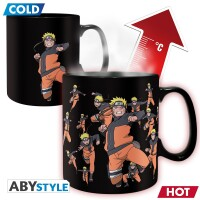Naruto Keramiktasse - Heat Change (460 ml)
