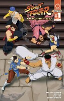 Street Fighter Unlimited 1 Cover B