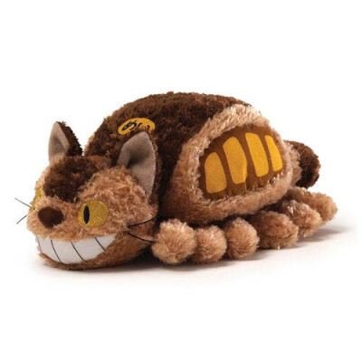 Studio Ghibli Plüsch-Figur: Little Fluffy Cat Bus (20 cm)