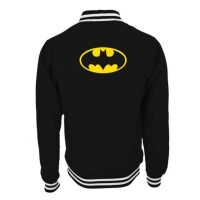 Batman College-Jacke - Batman Logo (schwarz)