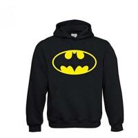 Batman Kapuzenpullover - Batman Logo (schwarz)