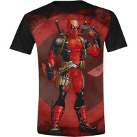 Deadpool T-Shirt - Gun to the Head (schwarz) M