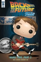 Back to the Future 20 Funko Art Cover