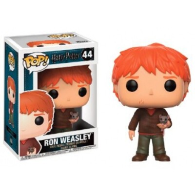 Harry Potter POP! Movies PVC-Sammelfigur - Ron with Scabbers