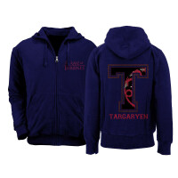 Game of Thrones Kapuzenjacke - Targaryen Varsity Style...
