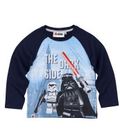 LEGO Star Wars Kinder Langarm-Shirt - Dark Side Vader &...
