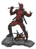Marvel Premiere Collection Resin-Statue: Deadpool (30 cm)