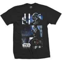 Star Wars T-Shirt - Rogue One Darth Vader (schwarz)
