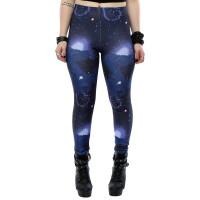 Star Wars Damen Leggings Force Awakens Galaxy Pattern...