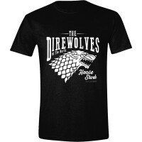 Game of Thrones T-Shirt - House Stark The Direwolves...