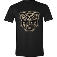 Transformers T-Shirt - Autobot Art Logo (anthrazit)