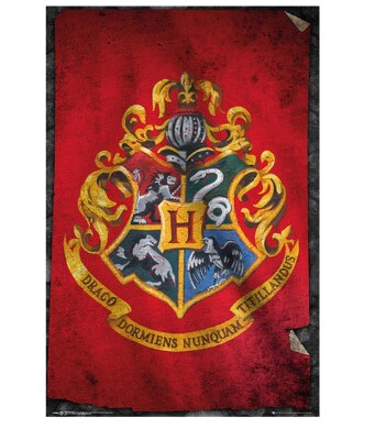 Harry Potter Poster: Hogwarts Wappen