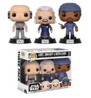 Star Wars POP! PVC-Sammelfigurenset - Lobot, Ugnaught,...
