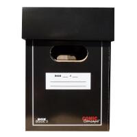 Comic Concept Premium Comic Box (kurz) schwarz