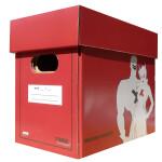 Comic Concept Premium Comic Box (kurz) rot