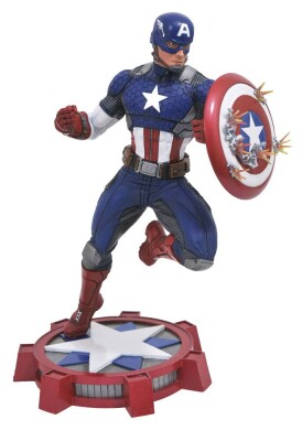 Captain America Marvel Gallery PVC-Statue - Captain America