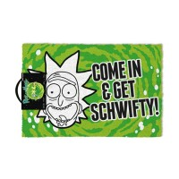 Rick and Morty Fußmatte Come in and get Schwifty