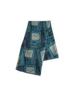 Adventure Time Schal All Over Print Beemo (türkis)