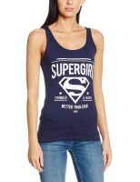 Supergirl Damen Tank Top: Better than ever (navy)