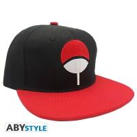 Naruto Baseball Cap Snapback - Uchiha (schwarz/rot)
