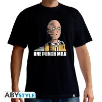 One Punch Man T-Shirt - Saitama Fun (schwarz)