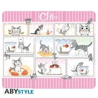 Kleine Katze Chi Mousepad: Chis Day