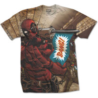 Deadpool T-Shirt - Bang Sublimation (all over)