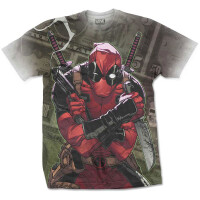 Deadpool T-Shirt - Cash Sublimation (all over)