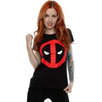 Deadpool Damen T-Shirt (Girlie): Deadpool Clean Logo...