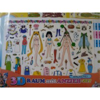 Sailor Moon 3D Raum mit Anzieh-Set Kollektion 1 Bäckerei...