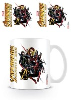 Avengers 3 Infinity War Keramiktasse - Ready for Action...