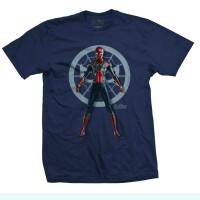 Avengers 3 Infinity War T-Shirt - Spidey Character (navy)