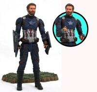 Marvel Select Actionfigur: Captain America (Filmversion...