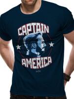 Avengers 3 Infinity War T-Shirt - Captain America Profil...