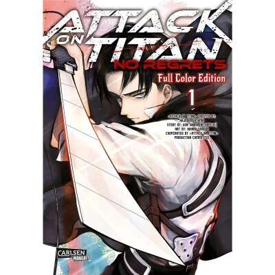 Attack on Titan - No Regrets 1 Full Color Edition (Hajime Isayama, Sunaaku Gan, Hiraku Suruga)