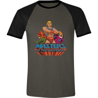 Masters of Universe T-Shirt - He-Man Characters Raglan...